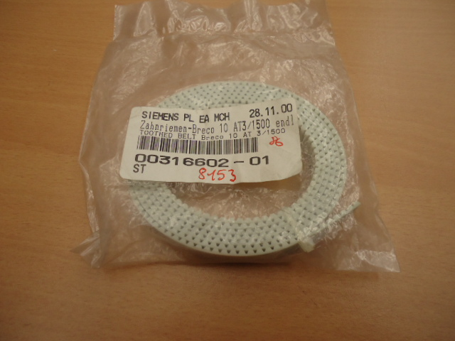 TOOTHED BELT BRECOFLEX 10AT3/1500