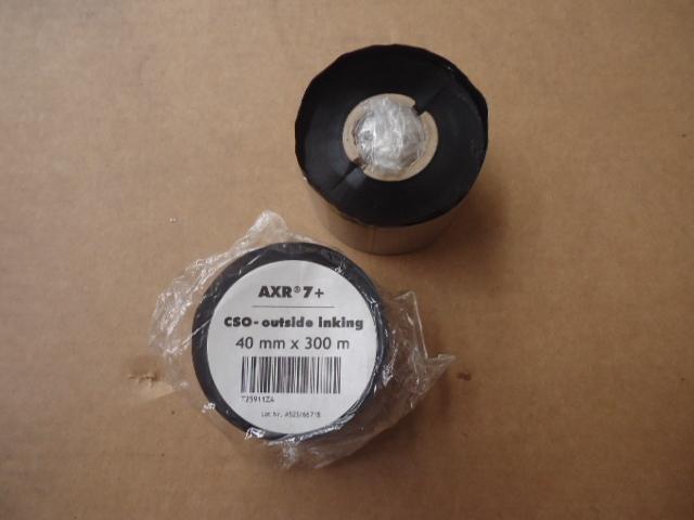 Rotoli film per stampanti ICS   mm. 40x300 metri AXR 7+