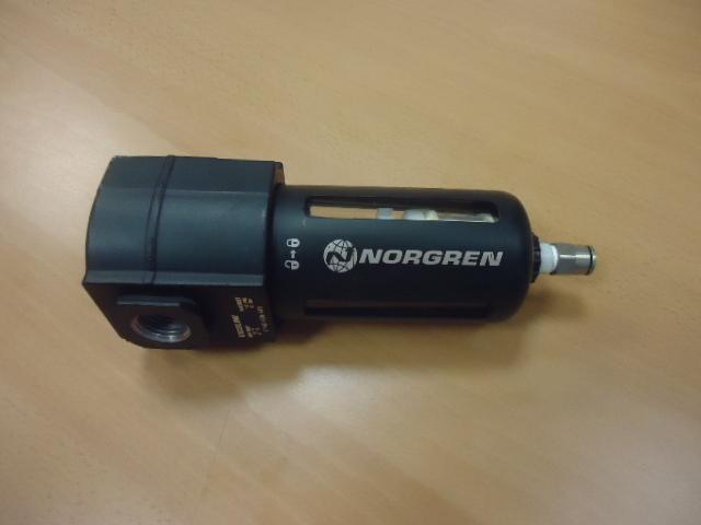 Filtro aria NORGREN 40mm.attacco G1/2 Scarico autom. ( Used )