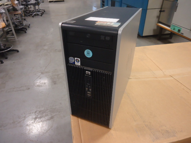 Comp.HP Micro tower intel core duo 3Ghz service pack3-XP hd150G
