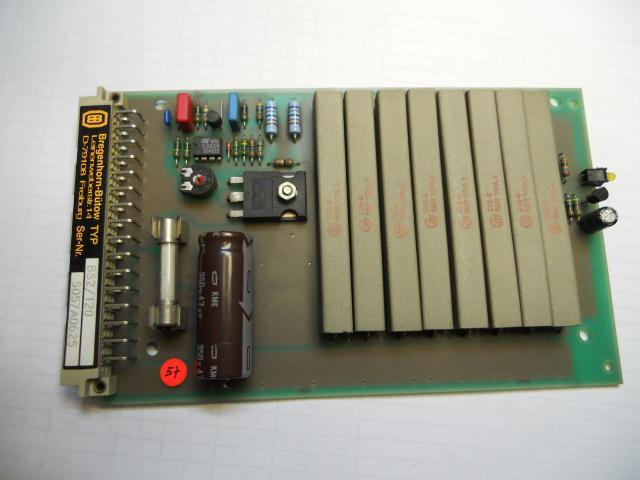 Ballast circuit nr. BSO 789/120