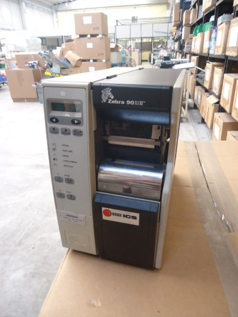 Stampante ICS- ZEBRA  Completa di computer