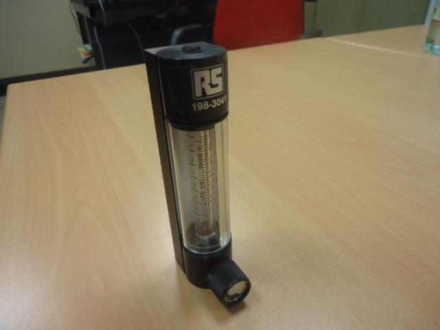Indicatore per flusso, per gas 2-20 L/Min.  Catalogo RS