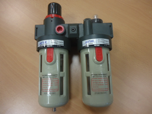 Regolatore con filtro doppio    AIR TAC