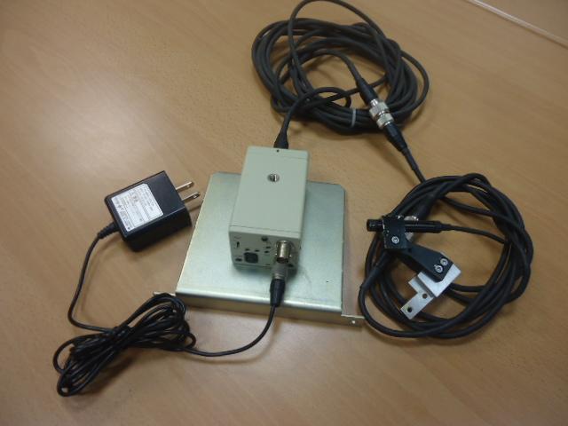 Telecamera completa di aliment.Amplificatore,cavetteria ( Used )