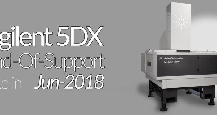 Agilent 5DX End-Of-Support date in Jun-2018
